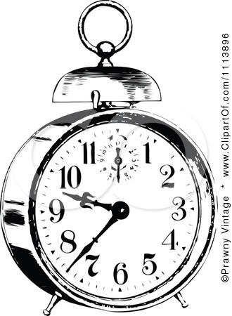 silhouette images vintage alarm clock - Bing Images