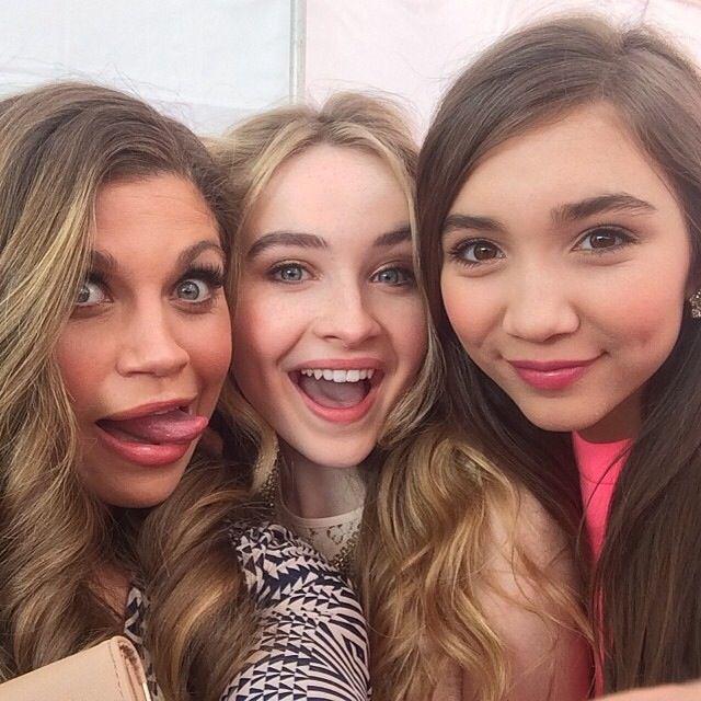 Rowan, Sabrina, and Danielle Fishel