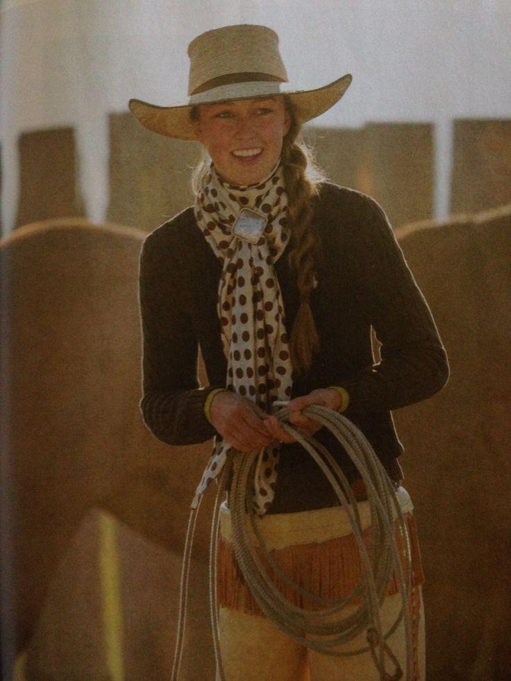 tayler teichert, cowgirl. photo by david stoeklein, western horseman