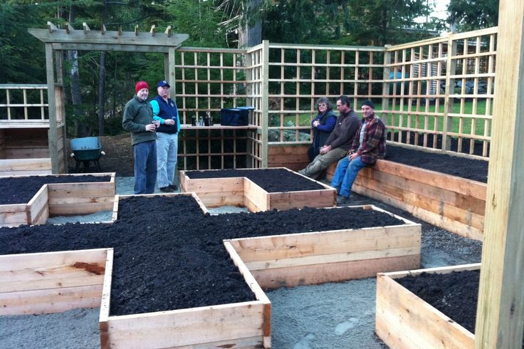 More layout ideas for raised beds my zone 4 garden for Garden bed layout