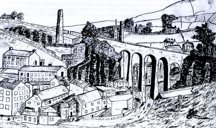 NEW MILLS - The Cotton Mills and Printworks of New Mills and District