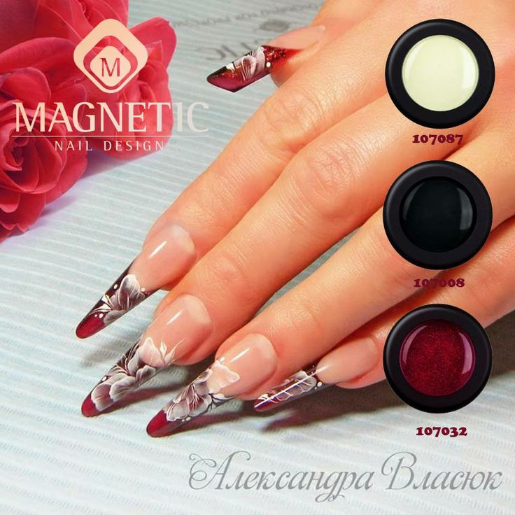 27 best nails by olexandra vlasiuk images on pinterest beauty magnetic nail design prinsesfo Choice Image