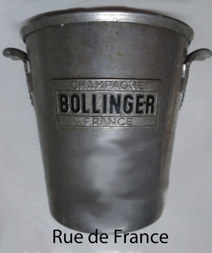 Bollinger French Art Deco Champagne bucket