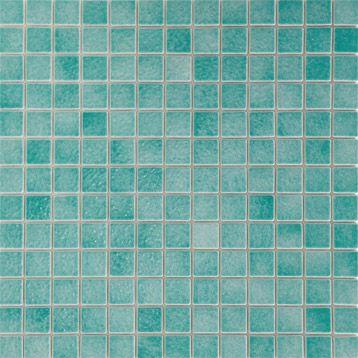 5 mosa�ques sol/mur EMAUX DE BRIARE, Harmonie 2.5x2.5, bleu