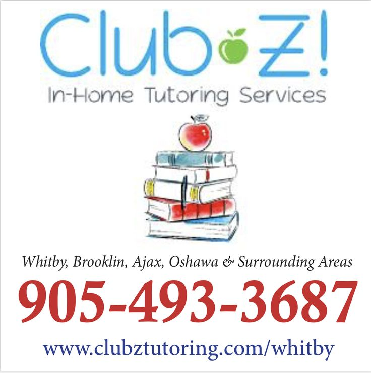 NEED A TUTOR? Call us today..905-493-3687!