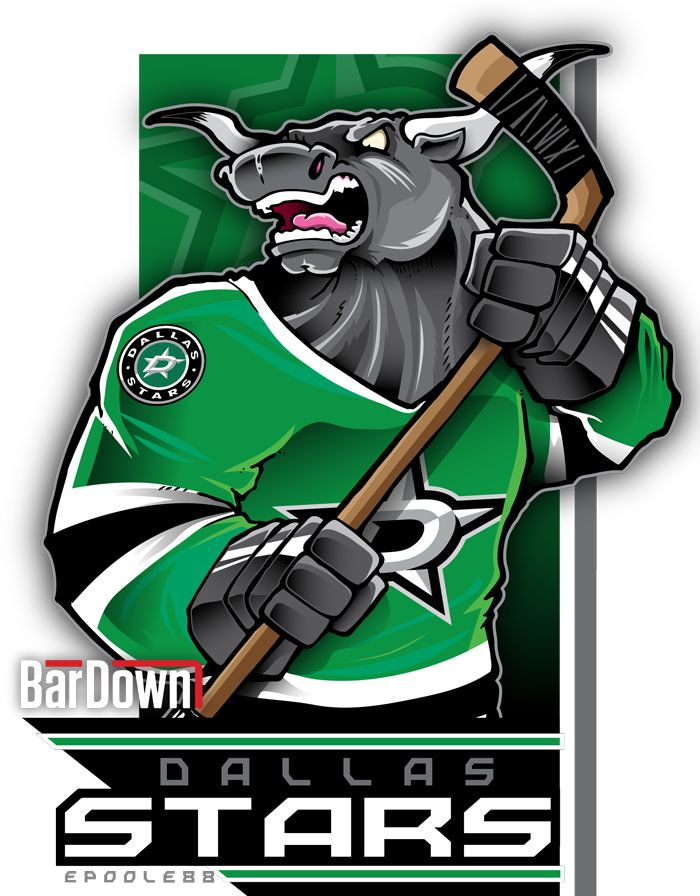 BarDown: NHL Cartoon Mascots: Central Division