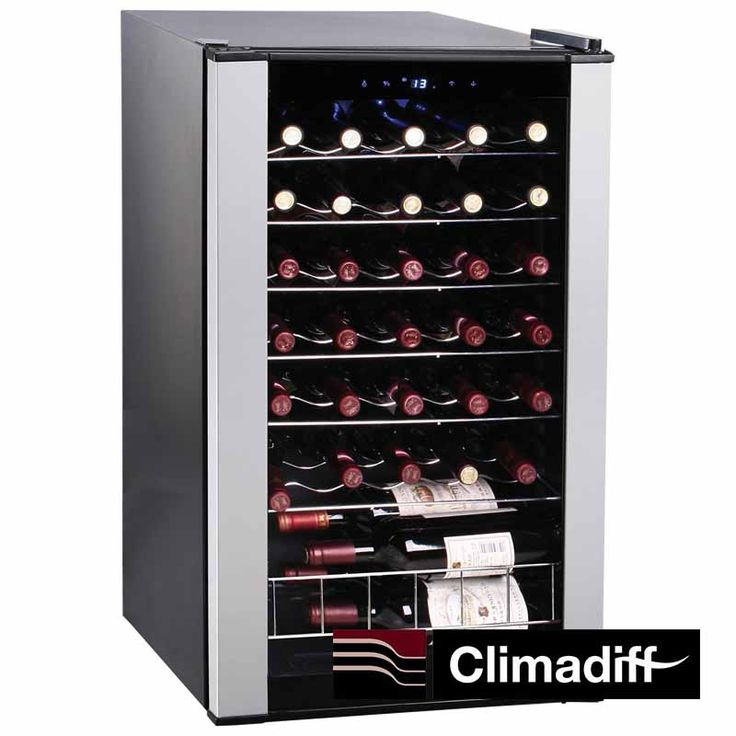 Vinoteca CLS33A de 33 Botellas. Vinoteca mediana.