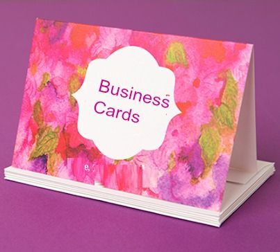 What kind of #Business_Cards do you always have on hand?