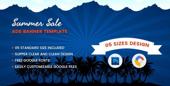 Summer Sales Banners Html5 - Google Web Designer