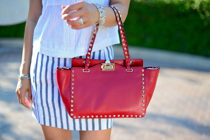 prada chain tote - Red tote crossbody bag, Valentino red mini rockstud tote ...