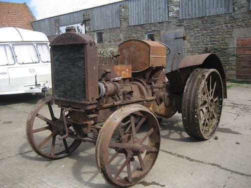 rock island tractor | Details: c.1930 ROCK ISLAND Model F 4cylinder petrol/paraffin TRACTOR