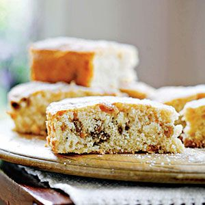 Autumn Apple Cake | MyRecipes.com Apples were a popular crop at Shaker communities in New England, and residents used them in pies and cakes like this one. Use a sweet, crisp apple such as Pink Lady, Braeburn, or Sundowner in this recipe.