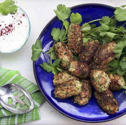 Turkey Zucchini Meatballs HealthyAperture.com