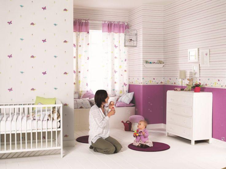 Pokój małej dziewczynki: 20 pomysłów na bajkowe tapety  - zdjęcie numer 17