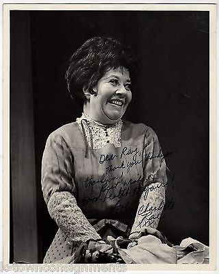 CHARLOTTE RAE FACTS OF LIFE TV ACTRESS VINTAGE AUTOGRAPH SIGNED 8x10 PHOTO