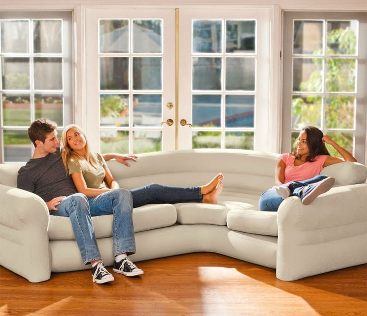 Modern Sectional Sofas An Inflatable Sectional Sofa http inflatasofa