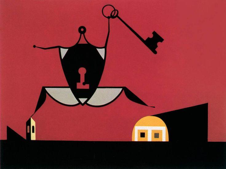 Korniss Dezső: Kulcsos (1949)