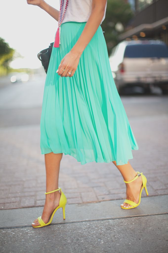 skirt + colors.