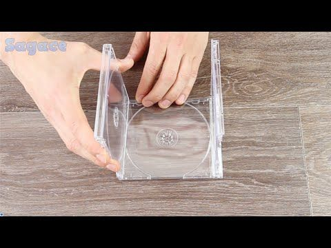 Hai vecchie custodie di CD in giro per casa? Non crederai mai a cosa ci puoi fare! : O - YouTube