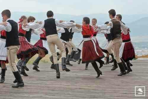 Dancing, Seclers, Transylvania, Székelyföld Erdély
