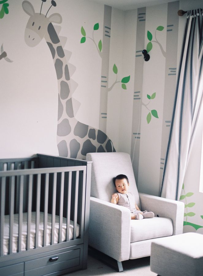 Animal-themed nursery: http://www.stylemepretty.com/living/2016/02/26/golden-zodiac-themed-birthday-celebration/ | Photography: Christine Choi - http://christinechoi.com/