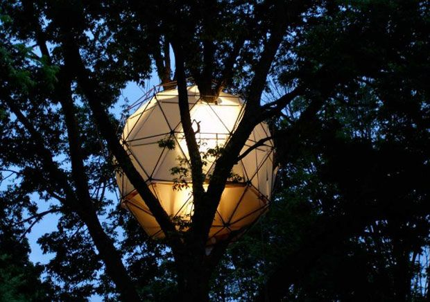 Casa de árbol O2: Usa  #Arquitectura #Sustentable