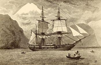 """Бигль"". Корабль, на котором путешествовал Чарльз Дарвин, Графика"