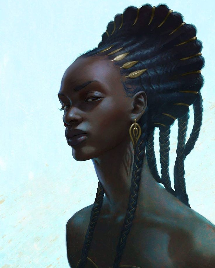 """2,373 Likes, 27 Comments - NUBIAMANCY (@nubiamancy) on Instagram: """"""""Lipombo"""", illustrated by @adrianwilkinsart ▫ PLEASE TAG THE ARTIST WHEN REPOSTING THIS ART ON YOUR…"""""""