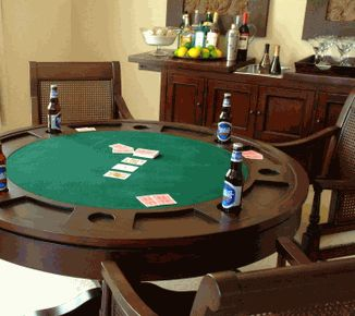 The Marietta Game Table Dinning Poker Bumper Pool Is Perfect Combination Of Style And Fun