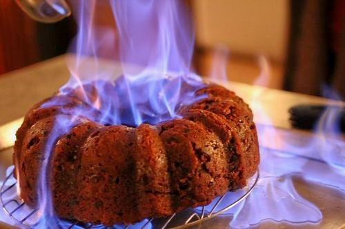 1000 Images About Flaming Dessert On Pinterest Baked