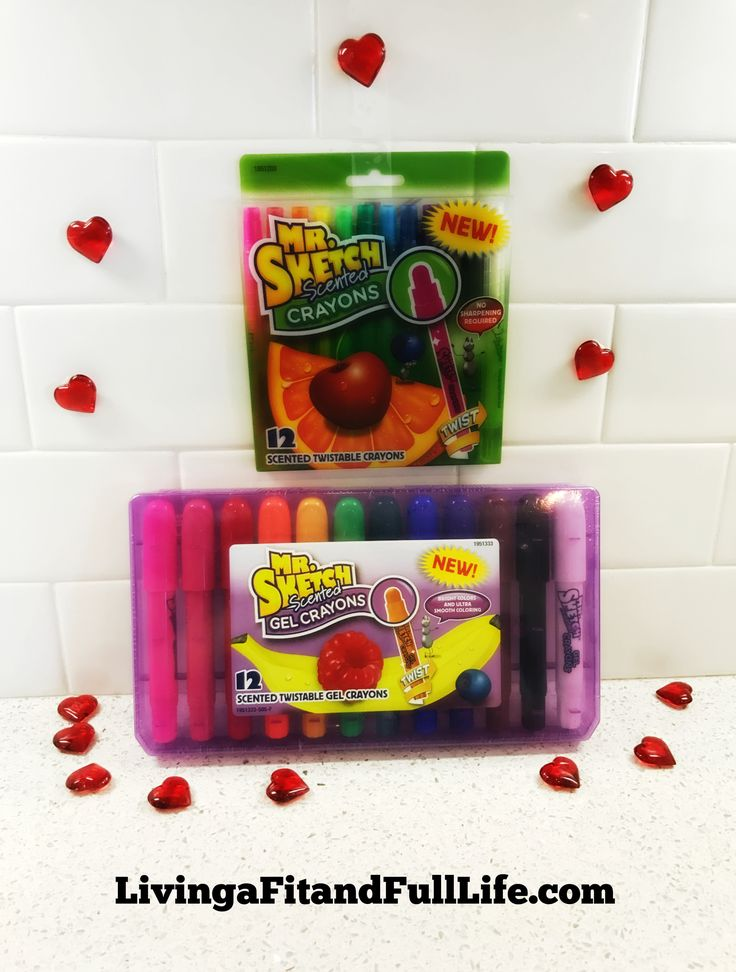 Make Heading Back to School Fun with the New Mr. Sketch Scented Gel & Twistable Crayons! #BACKTOSCHOOL