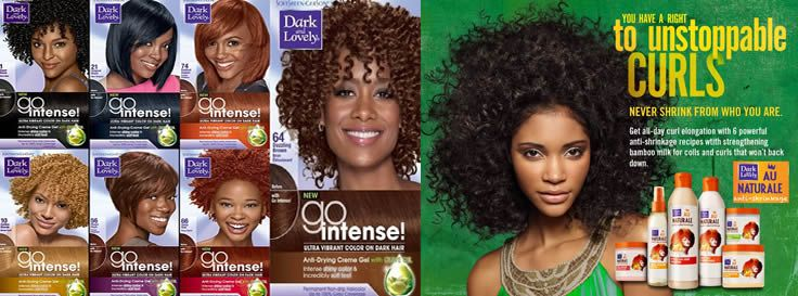 Au Naturale Hair Styles: 17 Best Images About Dark And Lovely On Pinterest