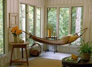indoor hammock. Yes please!