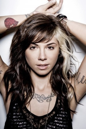 Christina Perri  I LOVE her hair