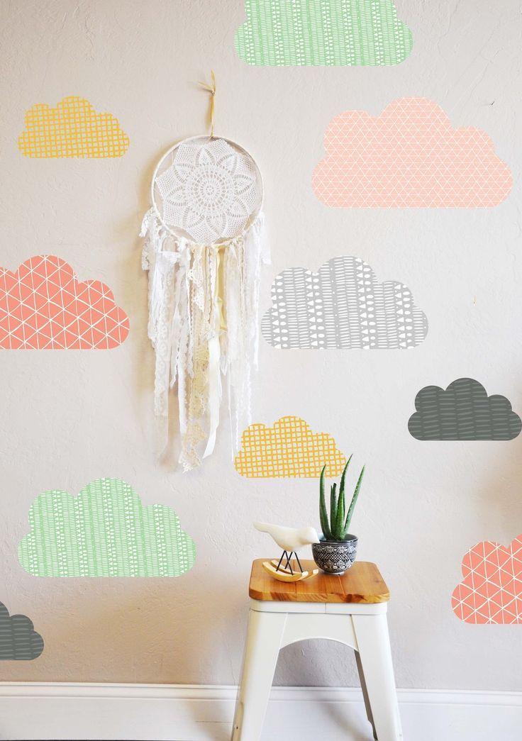 mommo design: 8 DIY WALLPAPER IDEAS