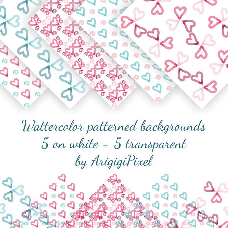 digital watercolor seamless #Valentine #background, #pink #hearts #seamless, blue seamless papers, transparent pattern, download http://etsy.me/2CRIZEs #supplies #wedding #valentinesday #jewelrymaking #sheet #digitalwatercolor #watercolorseamless #seamlessvalentine