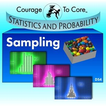 The Mission:  Students will explore samples and statistics using real world data. They will take multiple samples from a roughly normally distributed population and observe that the samples statistics are normally distributed with a mean close to the population mean. This mission is aligned with Common Core State Standards: HSS.ID.A.2.    The fun stuff:  Candies, NBA players and sodas! But especially candies--the kids will take samples of candies in order to build a roughly normal…