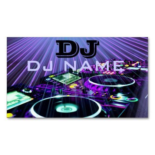 305 best dj business cards images on pinterest dj business cards dj business card reheart Image collections