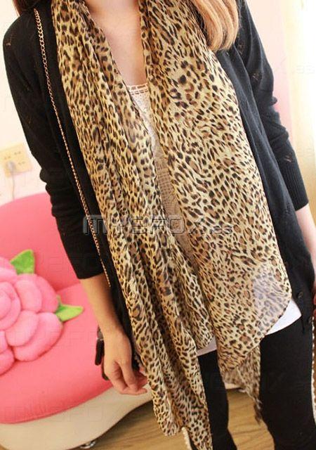 Bufanda de estilo europa de leopard  Oferta:€13.99 http://www.myefox.es/bufanda-de-estilo-europa-de-leopard-p-1223010