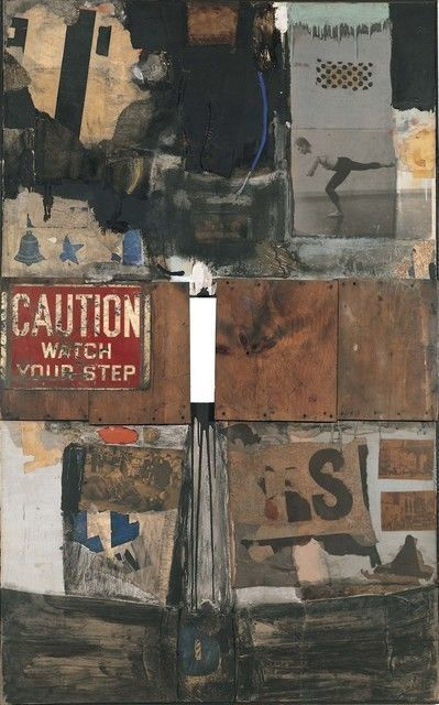 Robert Rauschenberg, 'Trophy I (for Merce Cunningham),' 1959
