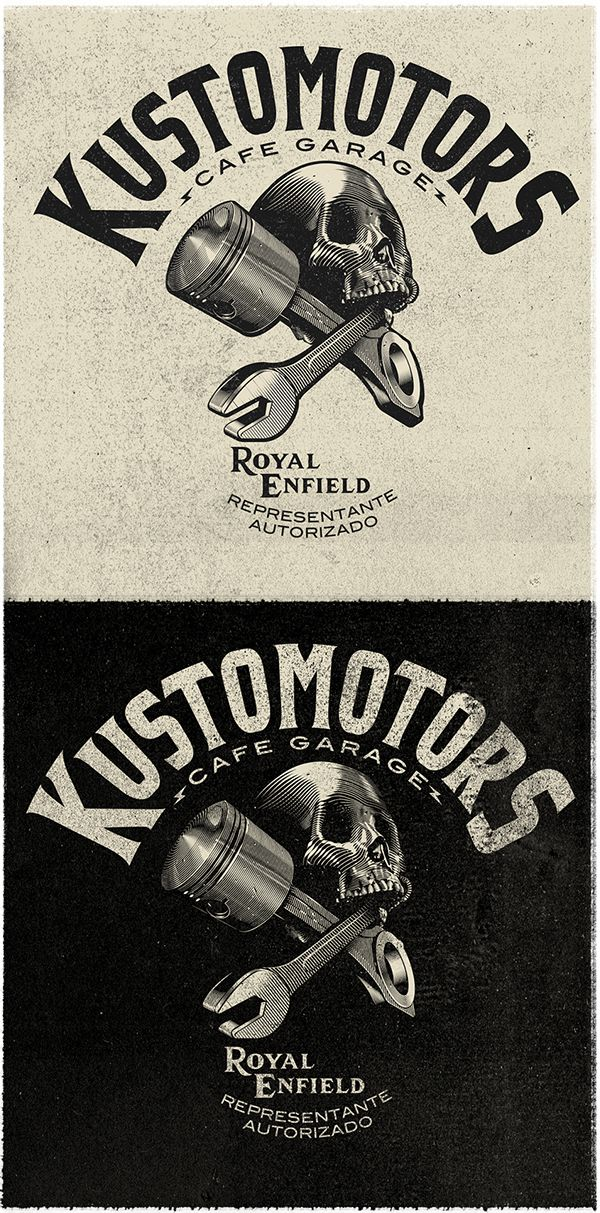 KUSTOMOTORS on Behance