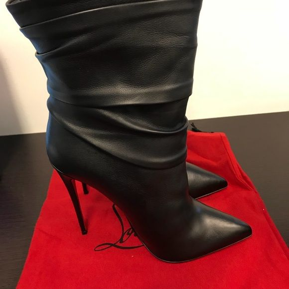 a01d4bb3d318 Christian Louboutin Shoes - CHRISTIAN LOUBOUTIN Ishtar Leather Bootie