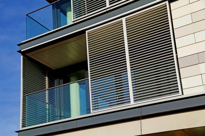Beeindruckend Balkon Jalousien Sonnenschutz Outdoor Fensterl C3