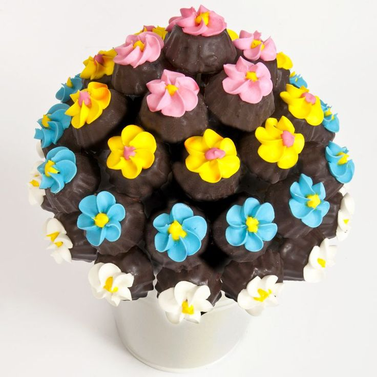 Rainbow Cookies 216 Çikolata Buketi
