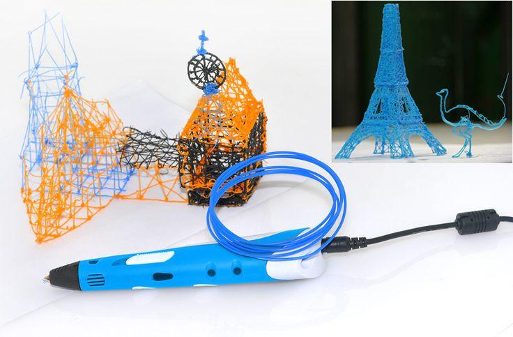 3D Druck ist ein riesen Spass mit dem 3D Pen! Zeichnen auf einer Fläche oder sogar in die Luft. Ihrer Fantasie sind keine Grenzen gesetzt, anders als beim herkömmlichen 3D Drucker sind Sie mit dem 3D Pen völlig frei!!