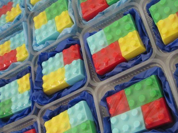 Kit Lego Sabonete | Sabão de Luxo - Exclusividades Artesanais | Elo7