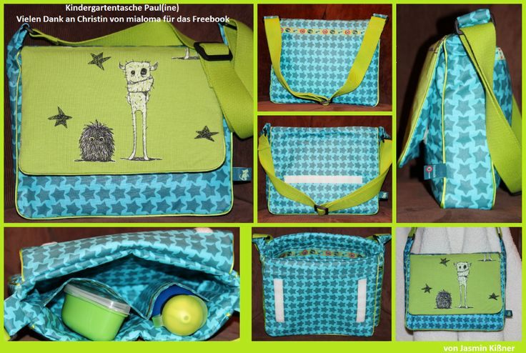 Kindergartentasche Paul(ine)von mialoma - Sew Along von Stoff & Liebe