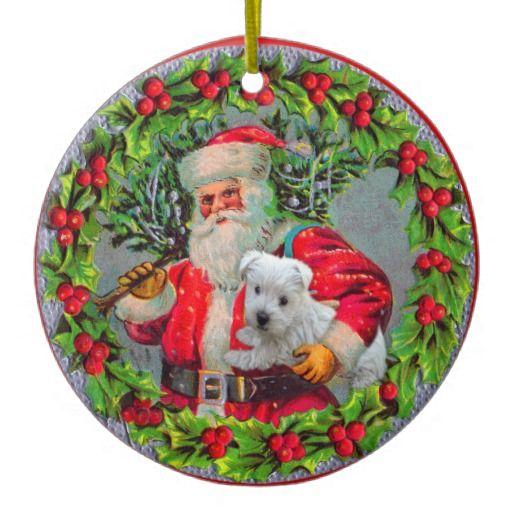 Decoration Noel Westie