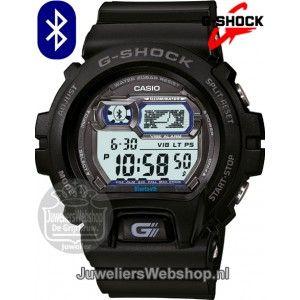 Dit stoere horloge kan je met je telefoon verbinden via Bluetooth. Hierdoor geeft het horloge een licht-, tril- of geluidsignaal bij inkomende oproepen, berichten en e-mails.