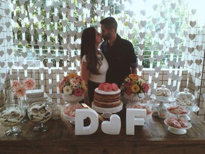 Chá bar: Débora e Felipe